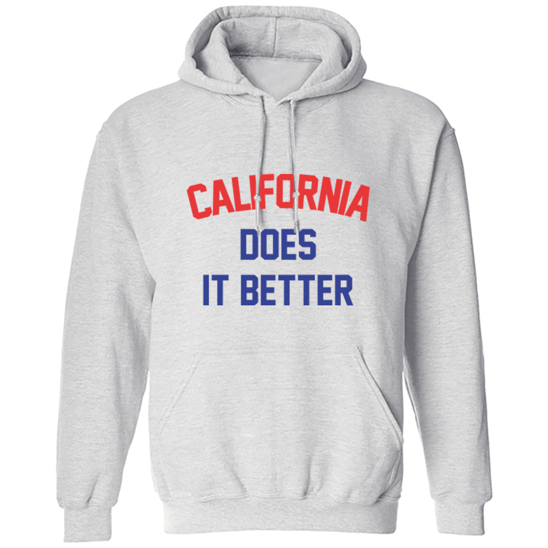 California Does Is Better Unisex Hoodie K1146 - Illustrated Identity Ltd.