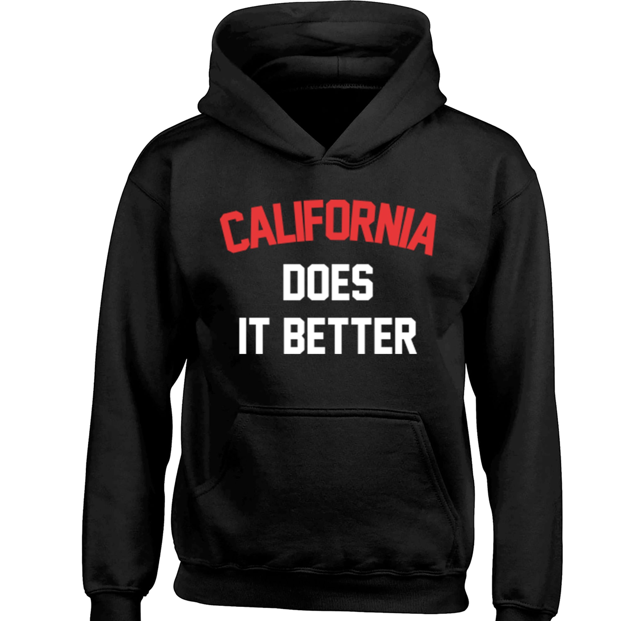 California Does It Better Childrens Ages 3/4-12/14 Unisex Hoodie K1146 - Illustrated Identity Ltd.