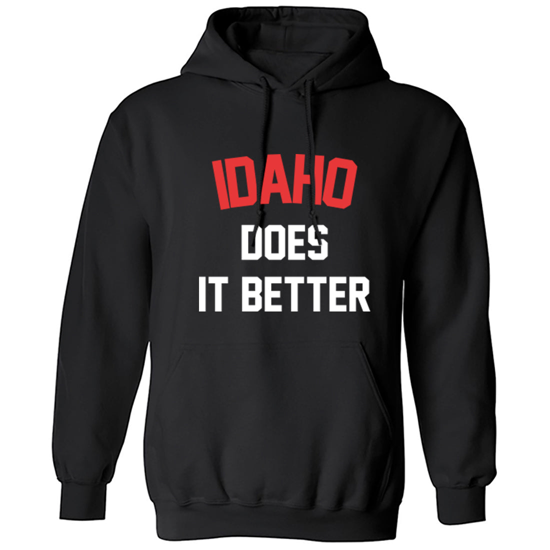 Idaho Does Is Better Unisex Hoodie K1152 - Illustrated Identity Ltd.