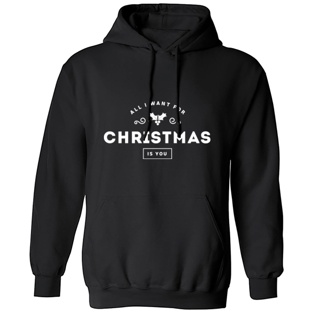 All I Want For Christmas Is You Unisex Hoodie K1251 - Illustrated Identity Ltd.
