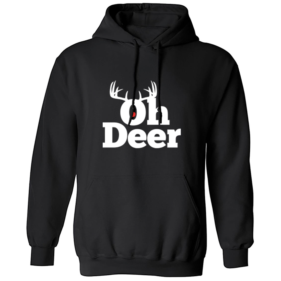 Oh Deer Unisex Hoodie K1348 - Illustrated Identity Ltd.