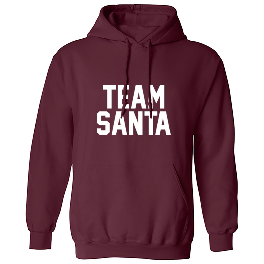 Team Santa Unisex Hoodie K1355 - Illustrated Identity Ltd.