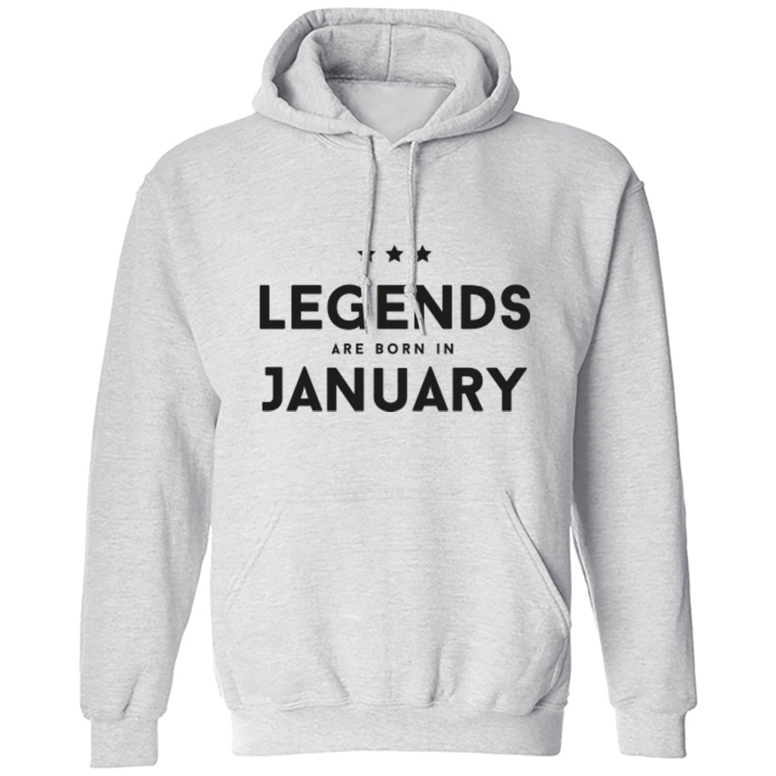 Legends Are Born In January Unisex Hoodie K1419 - Illustrated Identity Ltd.