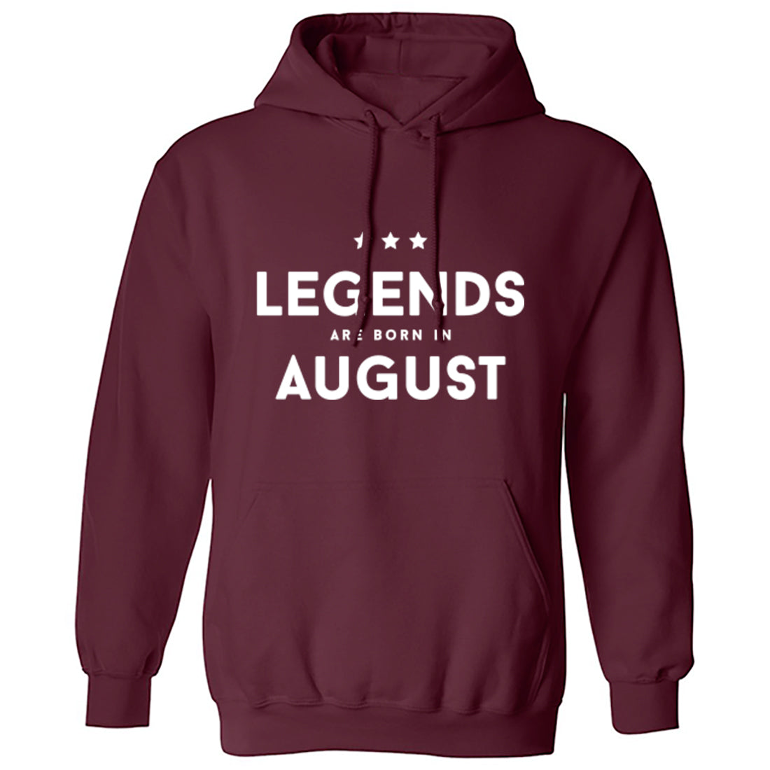 Legends Are Born In August Unisex Hoodie K1426 - Illustrated Identity Ltd.