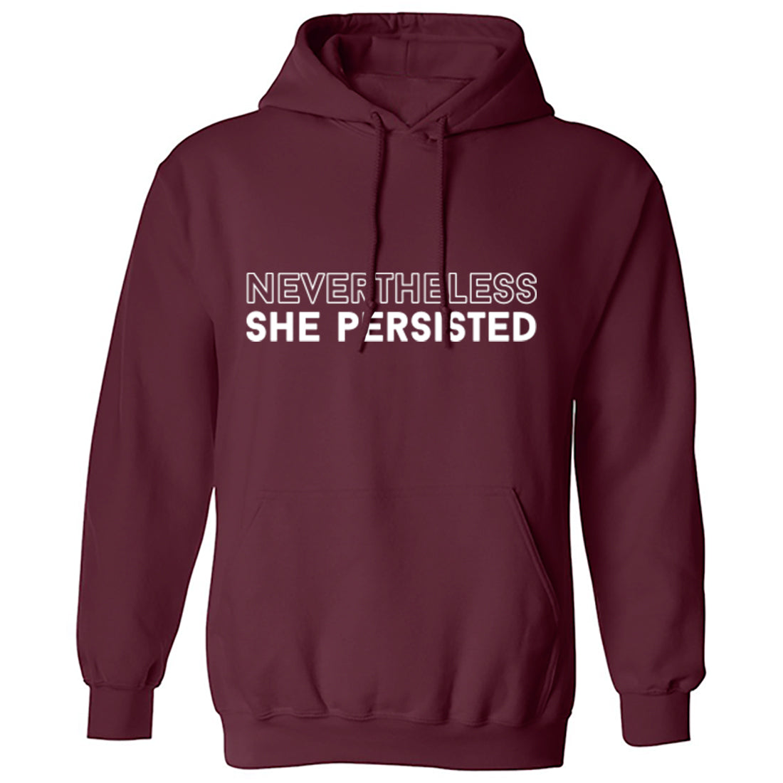 Nevertheless She Persisted Unisex Hoodie K1435 - Illustrated Identity Ltd.