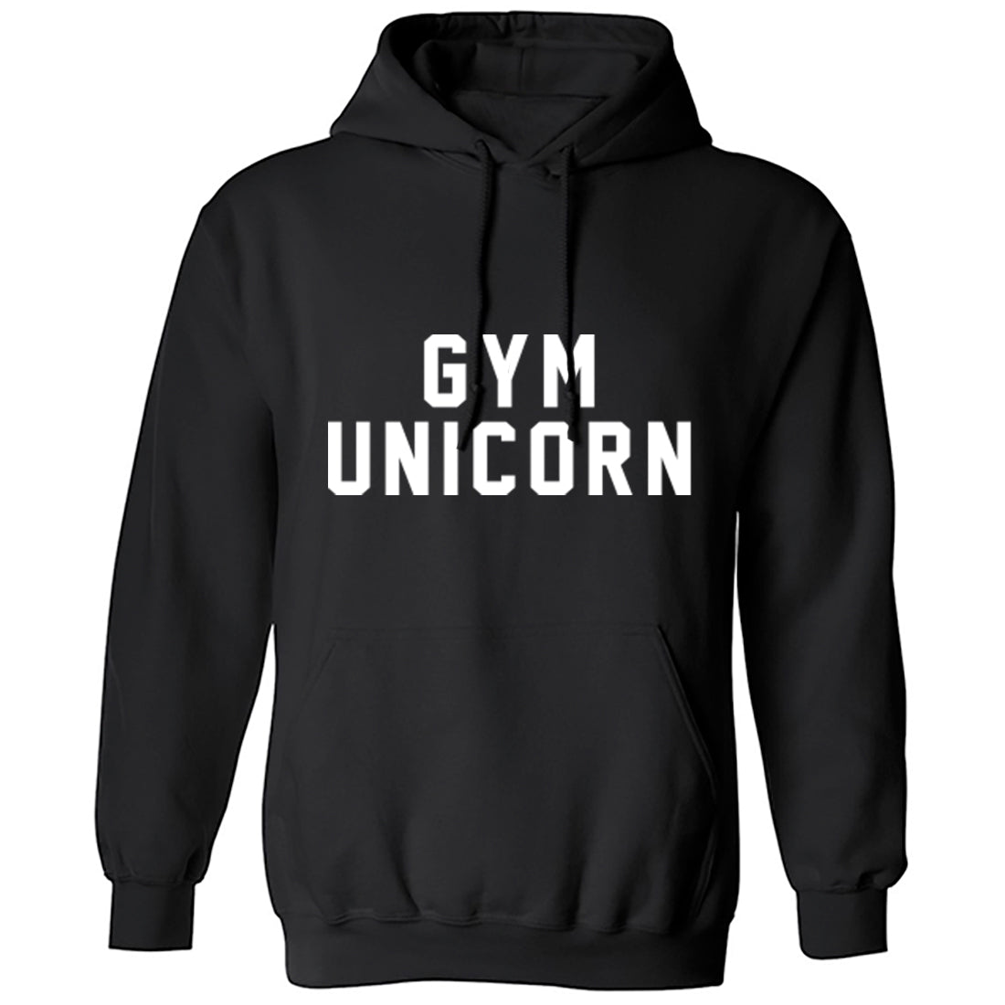 Gym Unicorn Unisex Hoodie K1447 - Illustrated Identity Ltd.