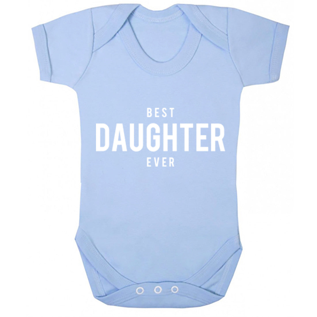 Best Daughter Ever Baby Vest K1459 - Illustrated Identity Ltd.