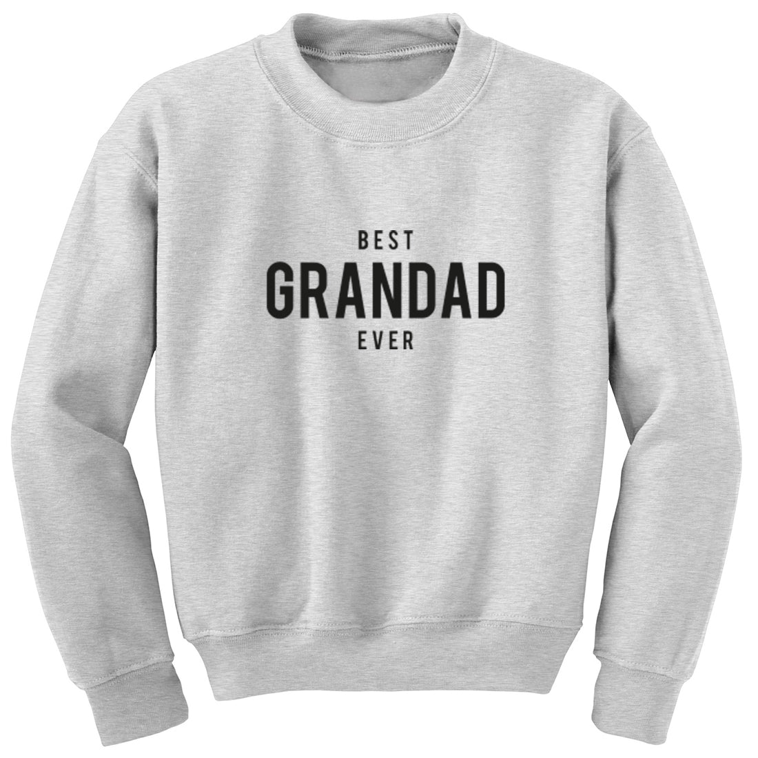 Best Grandad Ever Unisex Jumper K1466 - Illustrated Identity Ltd.