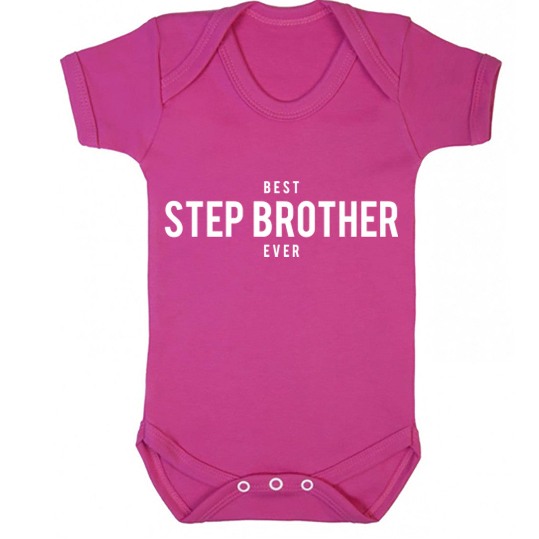 Best Step Brother Ever Baby Vest K1470
