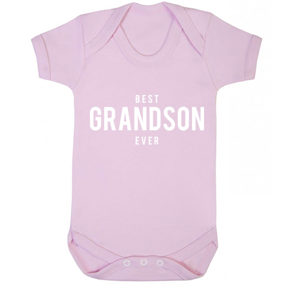 Best Grandson Ever Baby Vest K1482 - Illustrated Identity Ltd.