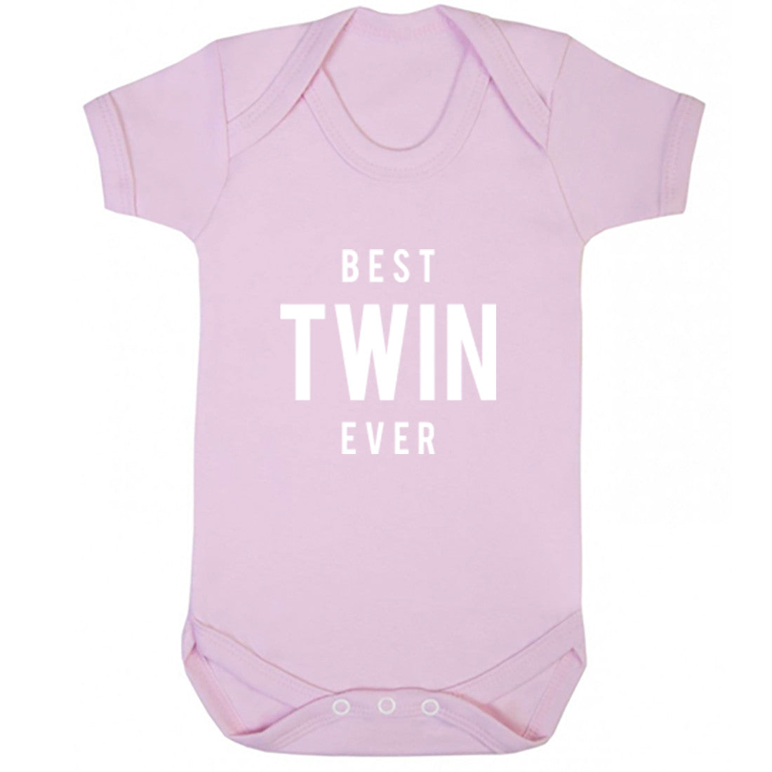 Best Twin Ever Baby Vest K1491