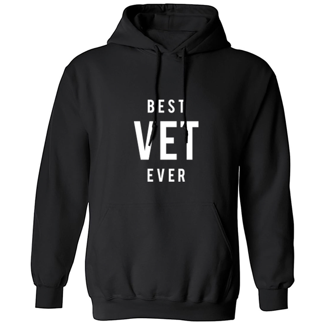 Best Vet Ever Unisex Hoodie K1492 - Illustrated Identity Ltd.