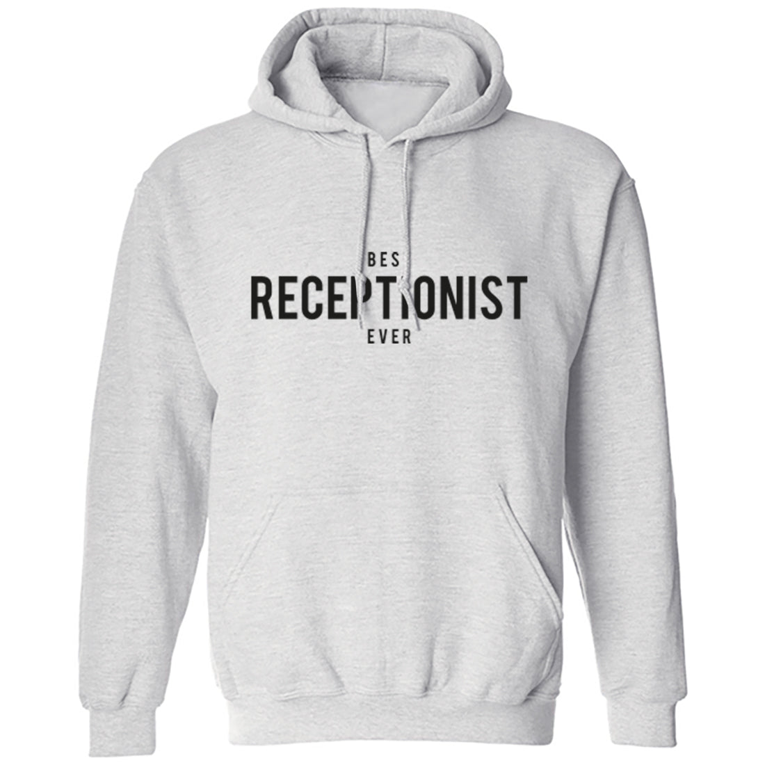 Best Receptionist Ever Unisex Hoodie K1498 - Illustrated Identity Ltd.