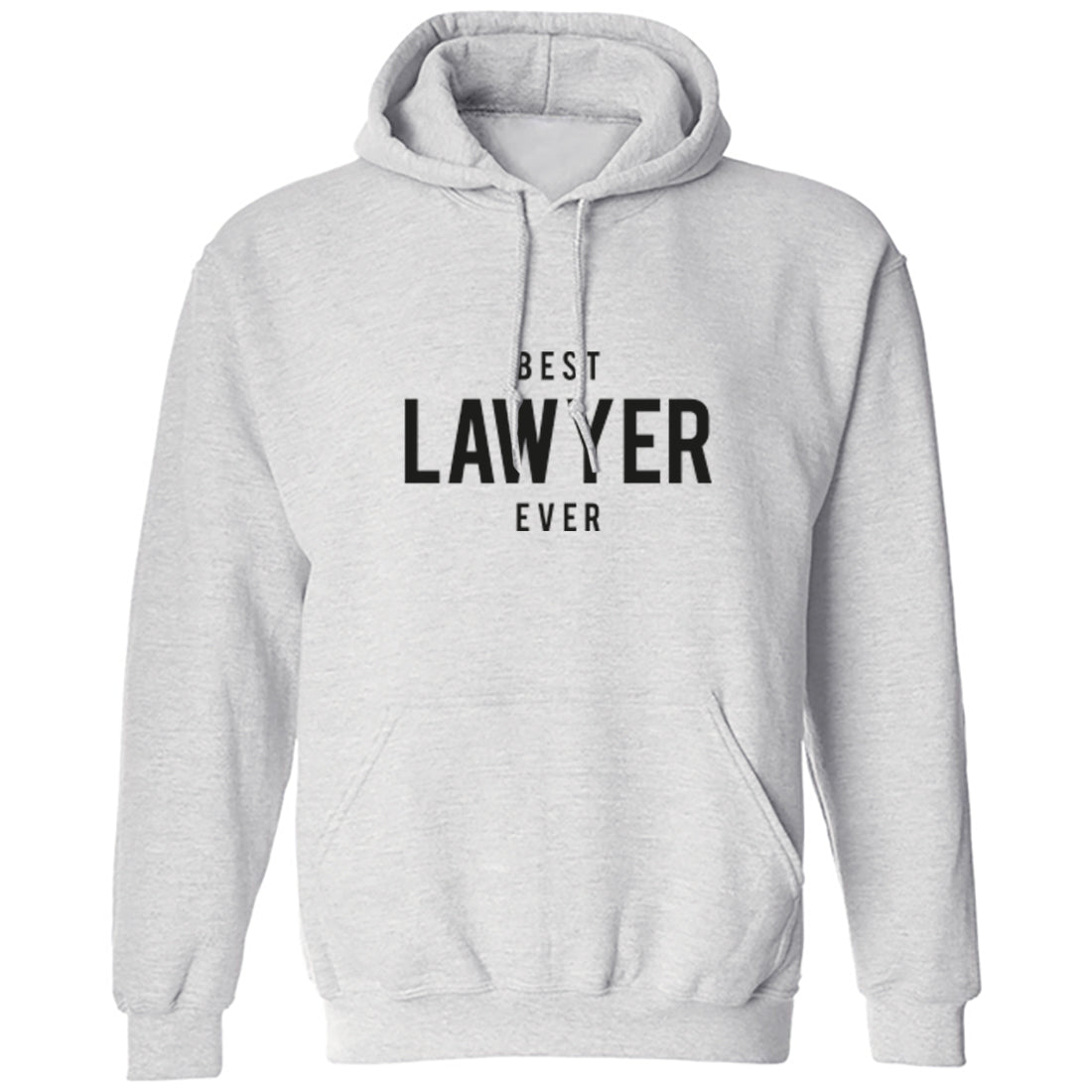 Best Lawyer Ever Unisex Hoodie K1505 - Illustrated Identity Ltd.