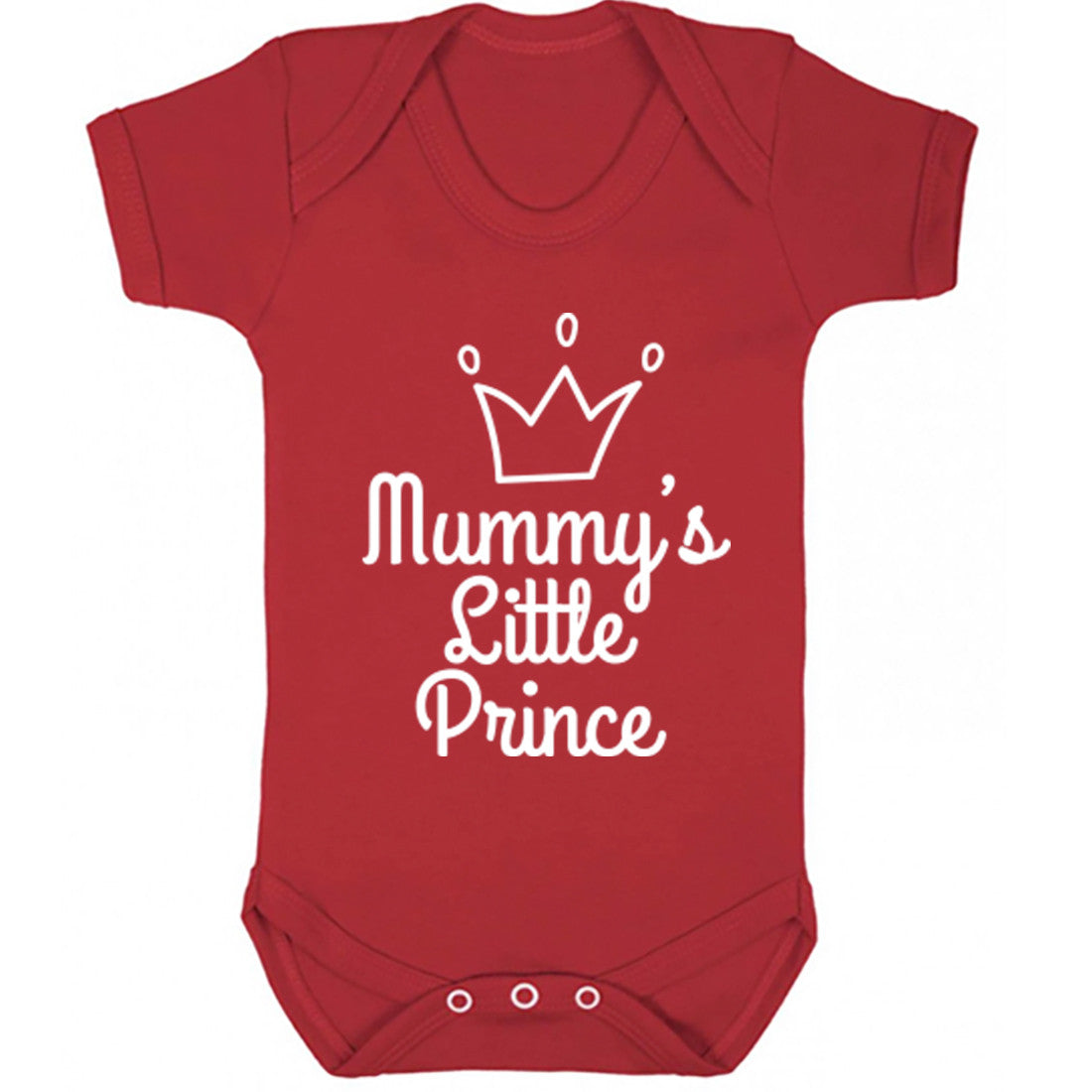 Mummy's Little Prince Baby Vest K1658 - Illustrated Identity Ltd.