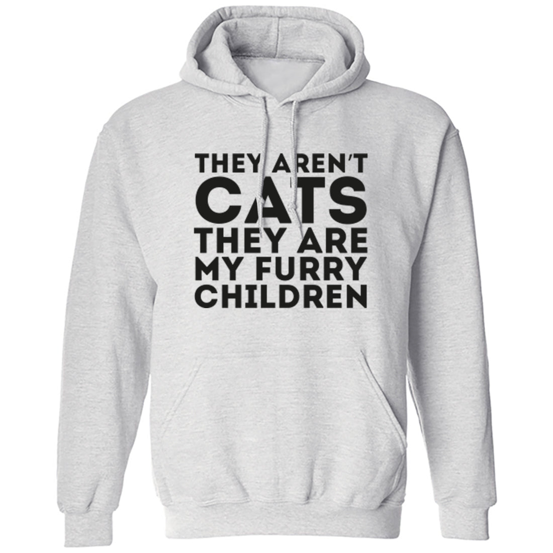 They Aren't Cats They Are My Furry Children Unisex Hoodie K1826 - Illustrated Identity Ltd.