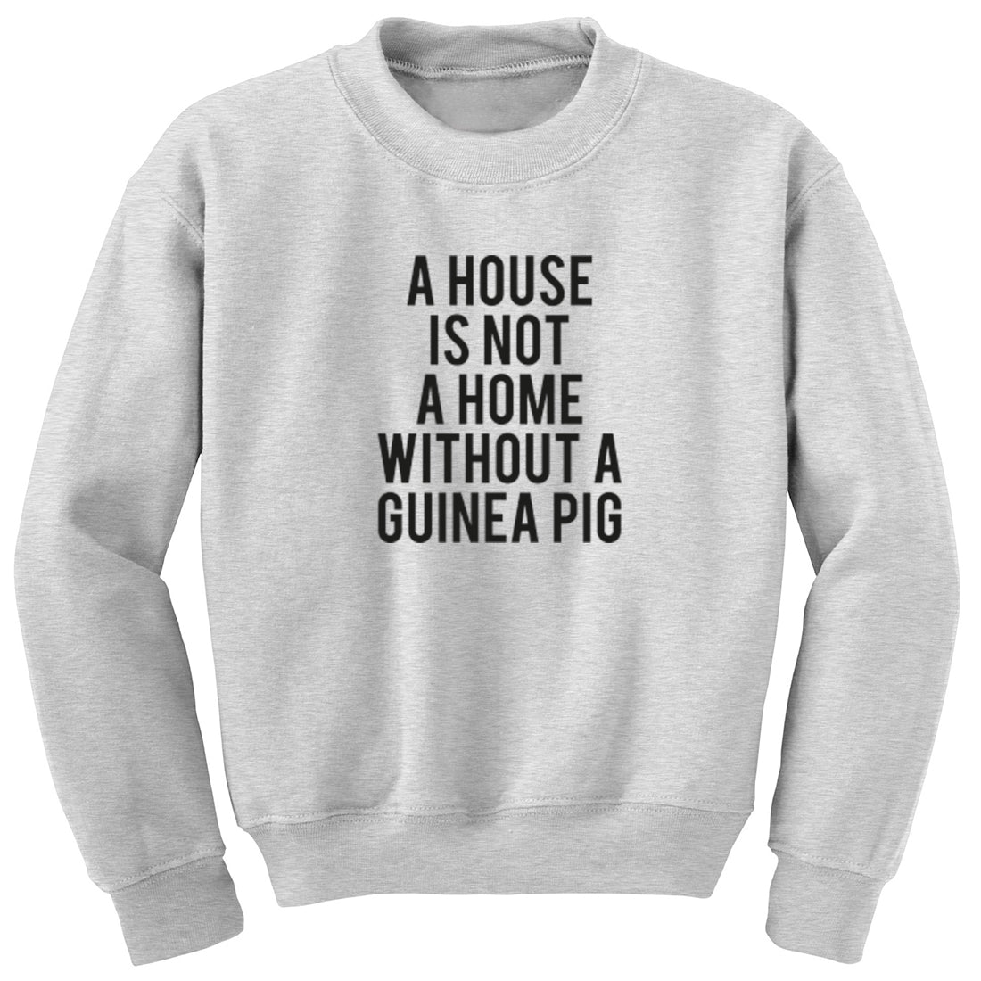 A House Is Not A Home Without A Guinea Pig Unisex Jumper K1851
