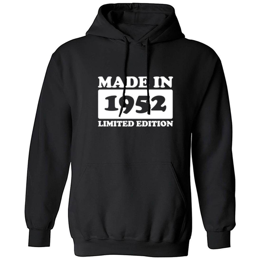 Made In 1952 Limited Edition Unisex Hoodie K1909 - Illustrated Identity Ltd.