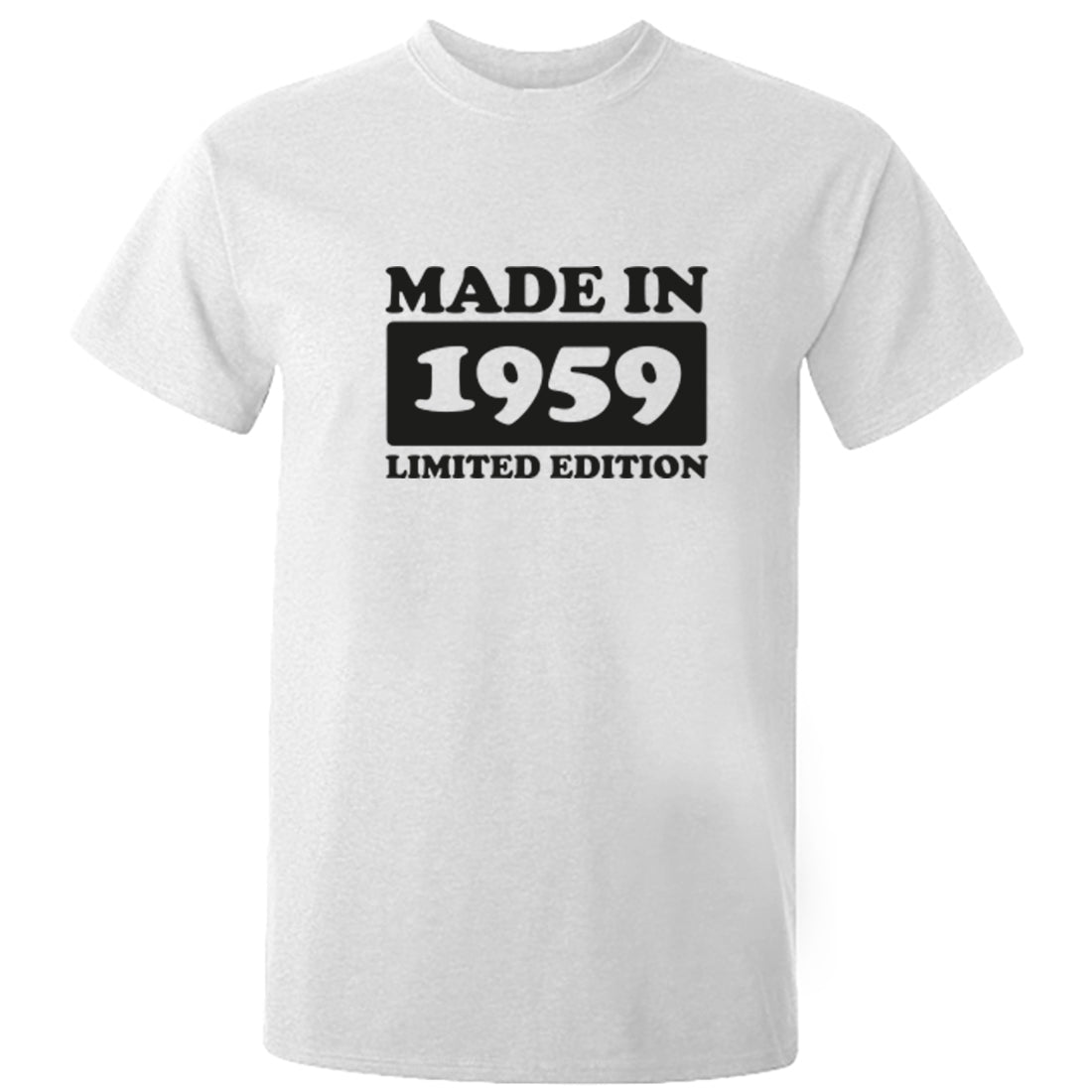 Made In 1959 Limited Edition Unisex Fit T-Shirt K1916 - Illustrated Identity Ltd.