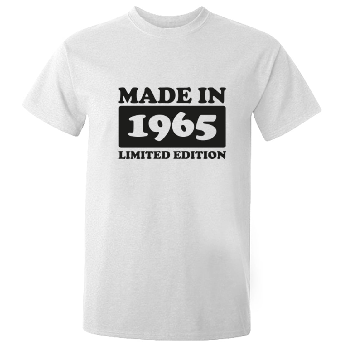 Made In 1965 Limited Edition Unisex Fit T-Shirt K1922 - Illustrated Identity Ltd.