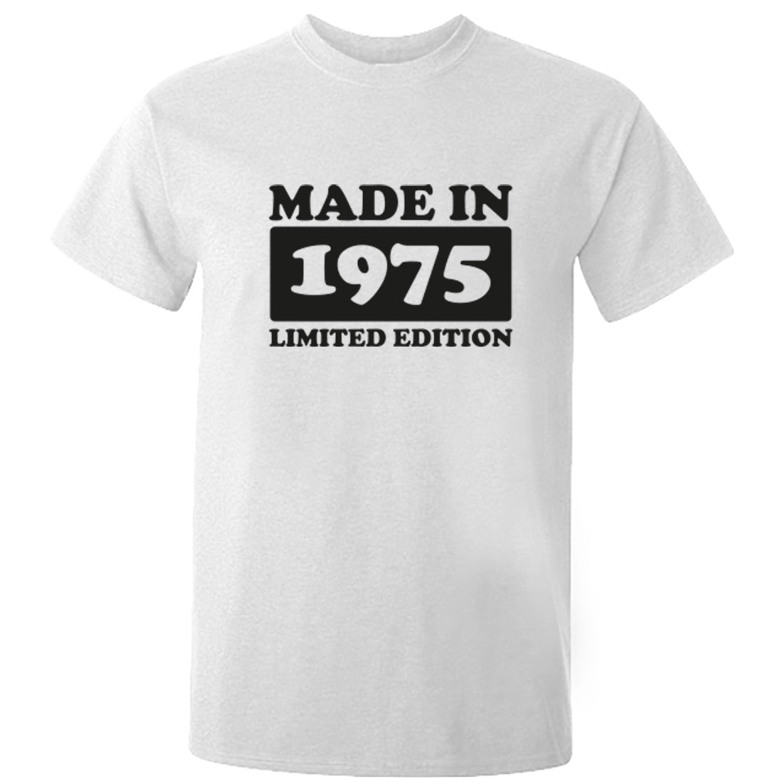 Made In 1975 Limited Edition Unisex Fit T-Shirt K1932 - Illustrated Identity Ltd.