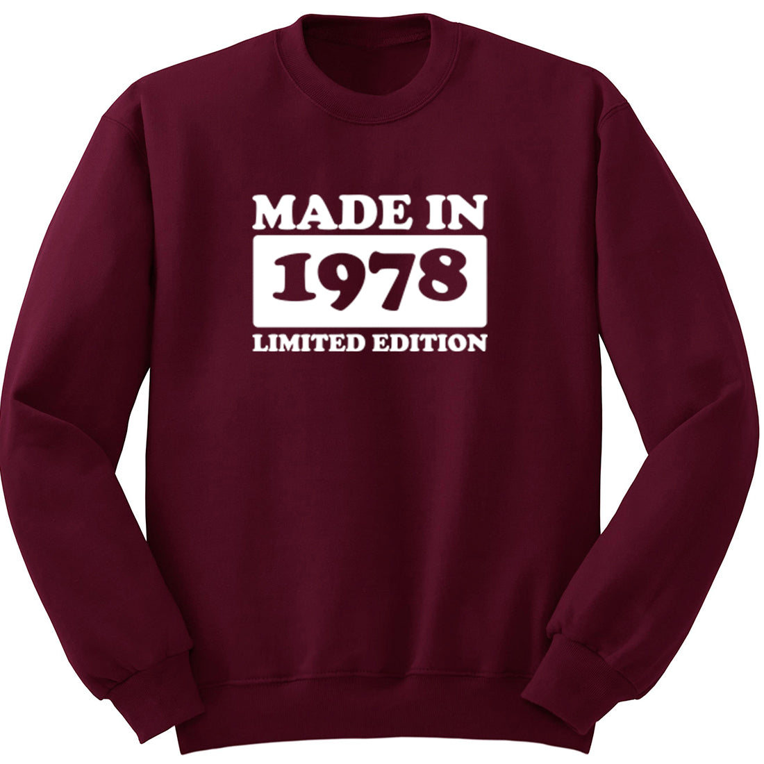 Made In 1978 Limited Edition Unisex Jumper K1935 - Illustrated Identity Ltd.