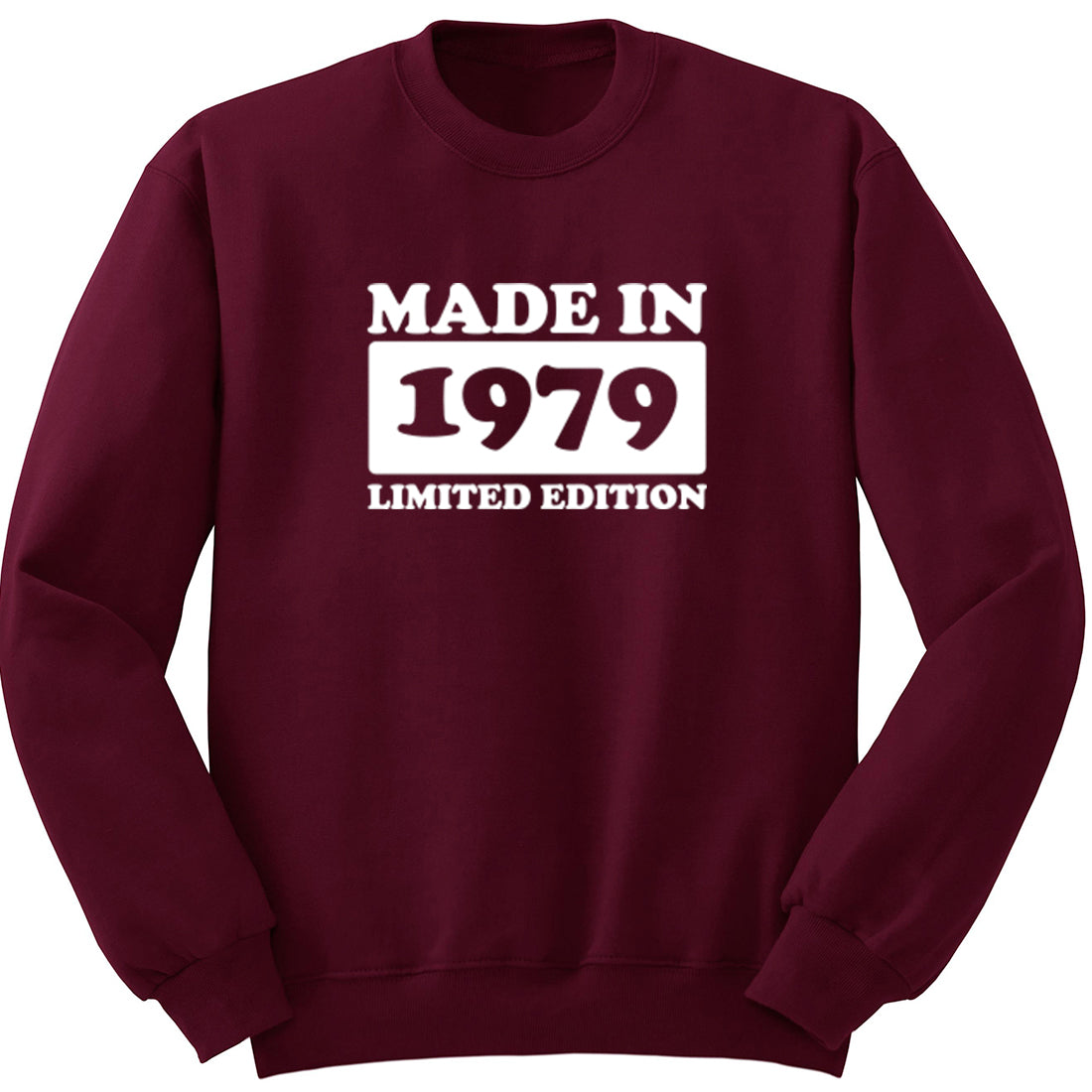 Made In 1979 Limited Edition Unisex Jumper K1936 - Illustrated Identity Ltd.