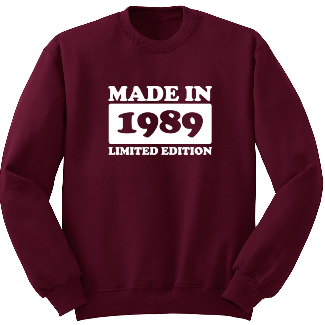 Made In 1989 Limited Edition Unisex Jumper K1946 - Illustrated Identity Ltd.