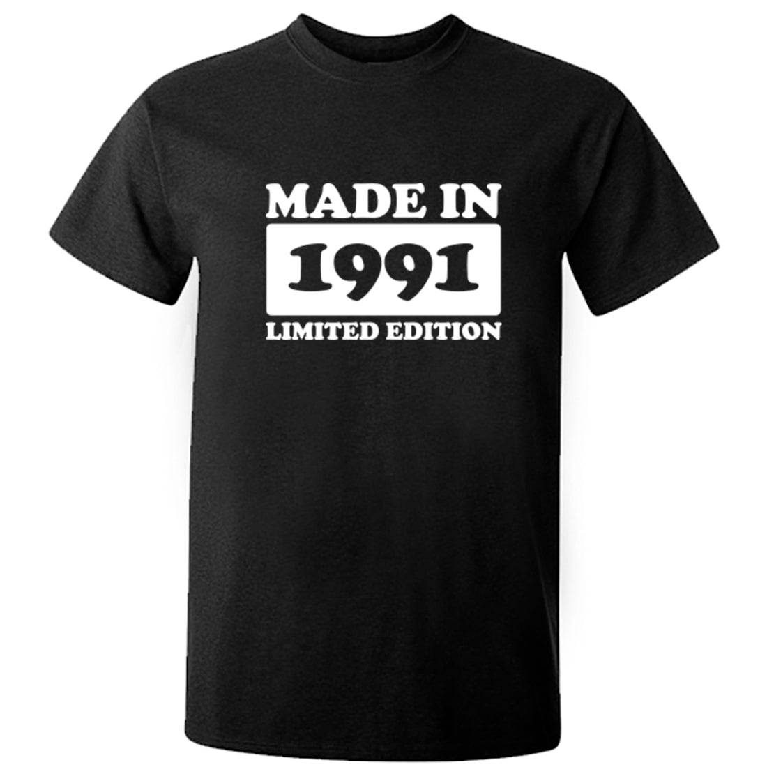 Made In 1991 Limited Edition Unisex Fit T-Shirt K1948 - Illustrated Identity Ltd.