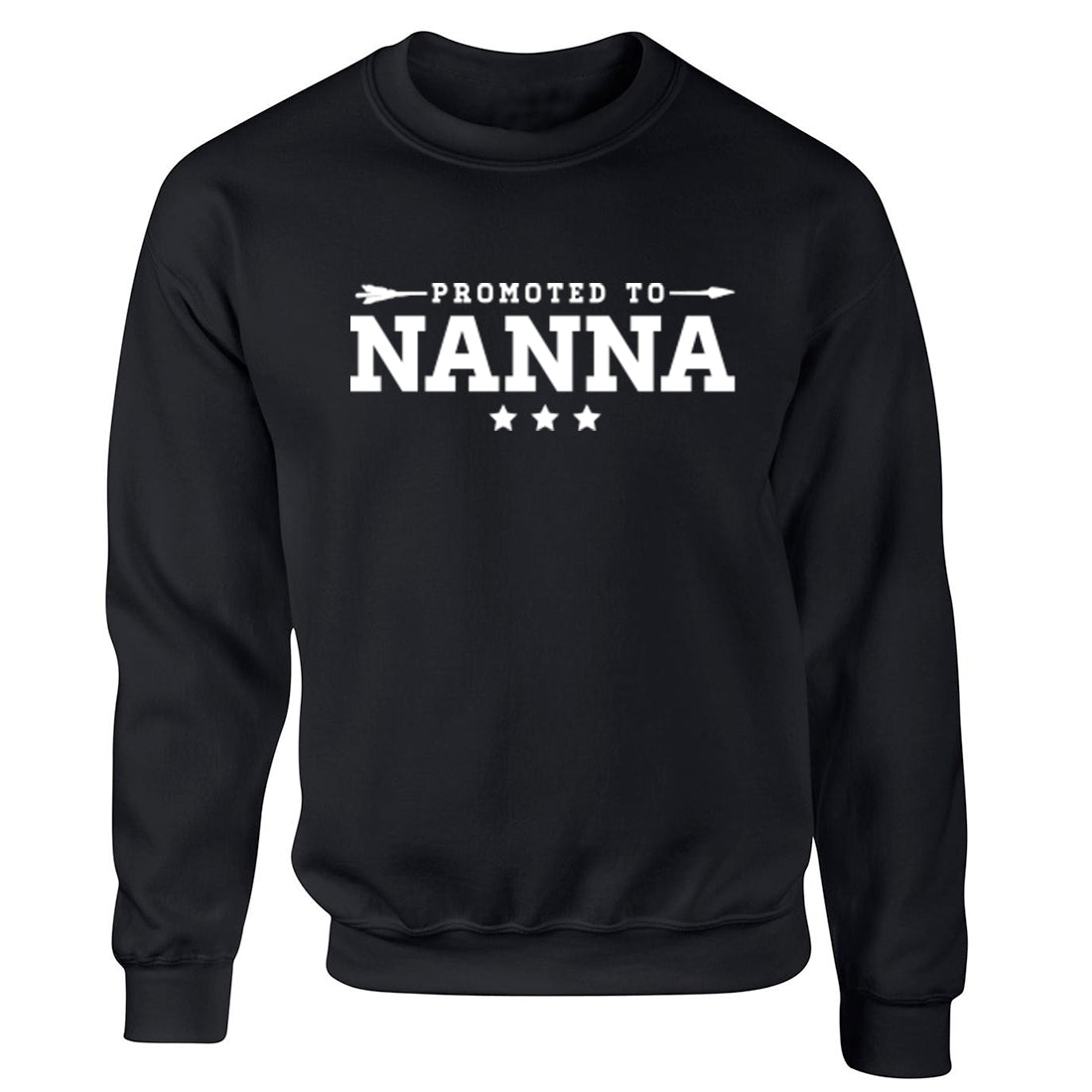 Promoted To Nanna Unisex Jumper K2079 - Illustrated Identity Ltd.
