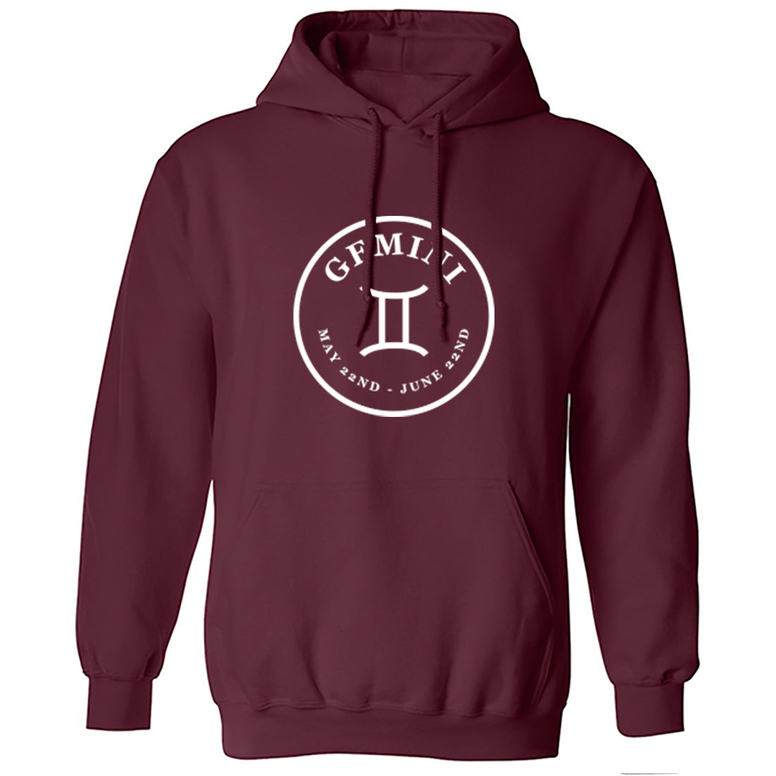 Gemini Zodiac Sign Unisex Hoodie K2101 - Illustrated Identity Ltd.
