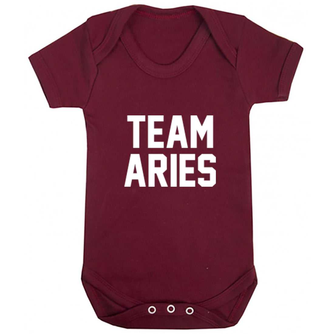 Team Aries Zodiac Sign Baby Vest K2125