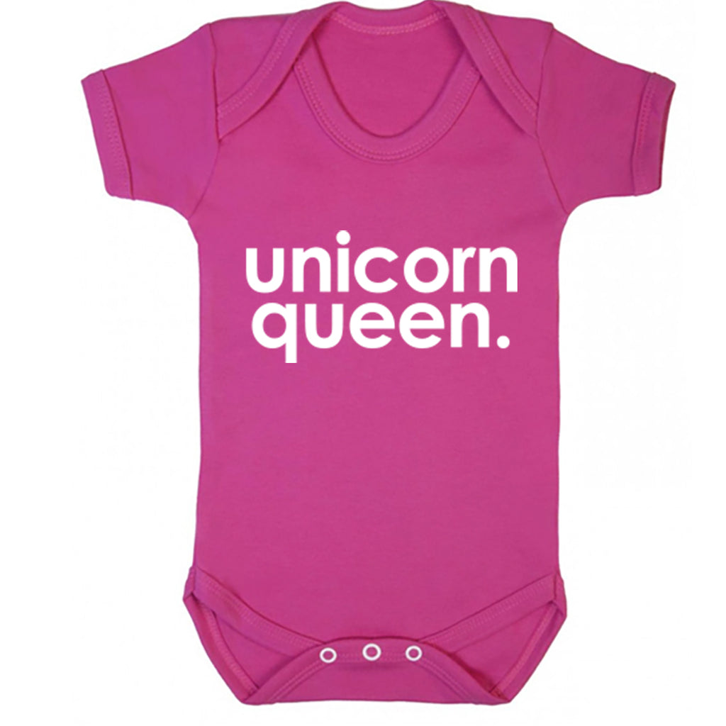 Unicorn Queen Baby Vest K2225