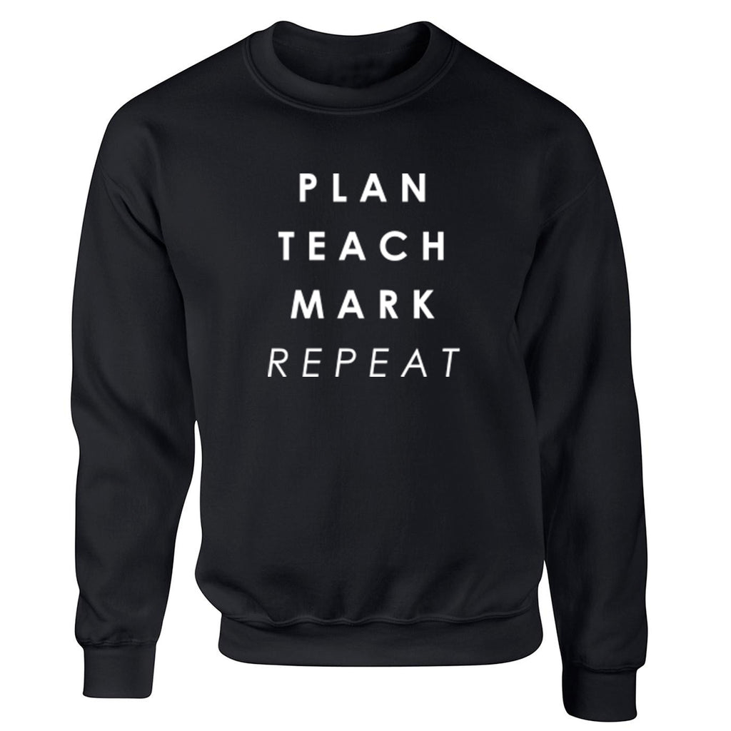 Plan Teach Mark Repeat Unisex Jumper K2296