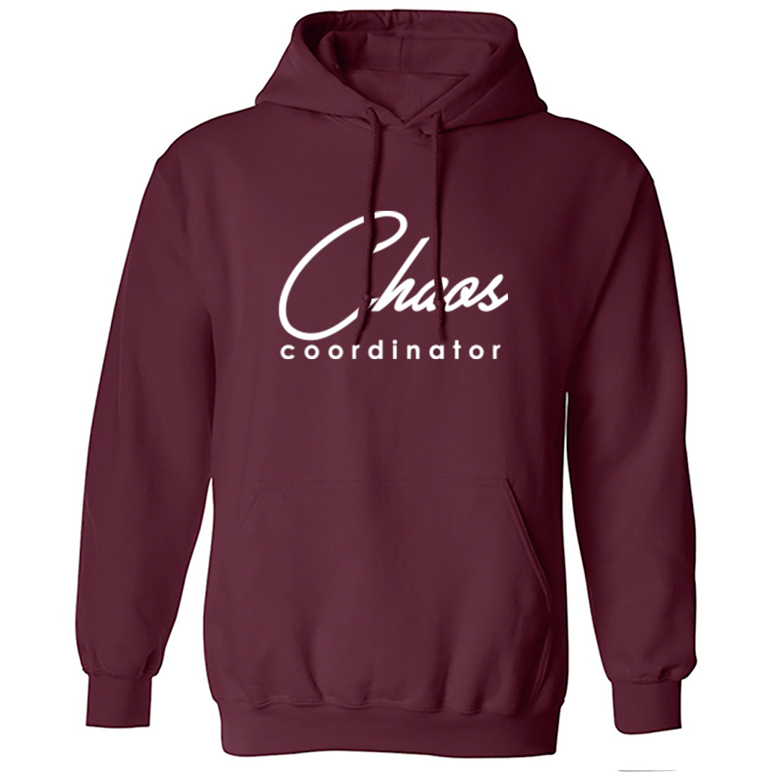 Chaos Coordinator Unisex Hoodie K2297 - Illustrated Identity Ltd.