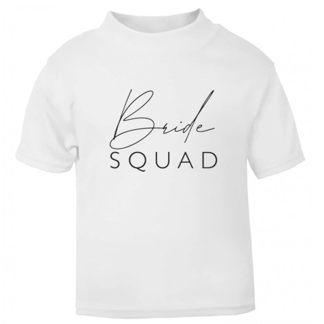 Bride Squad Childrens Ages 3/4-12/14 Unisex Fit T-Shirt K2378