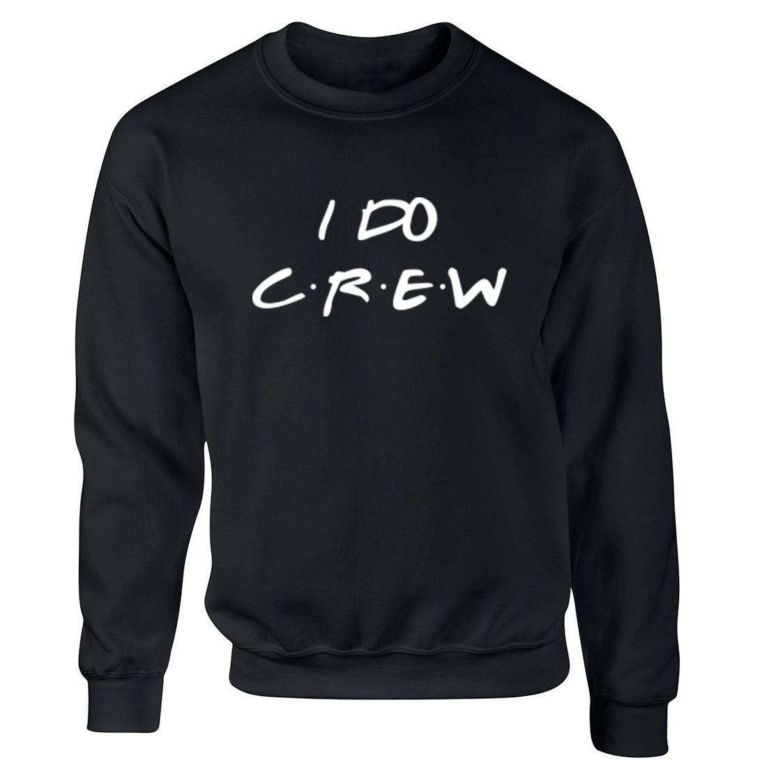 I Do Crew Childrens Ages 3/4-12/14 Unisex Jumper K2381 - Illustrated Identity Ltd.