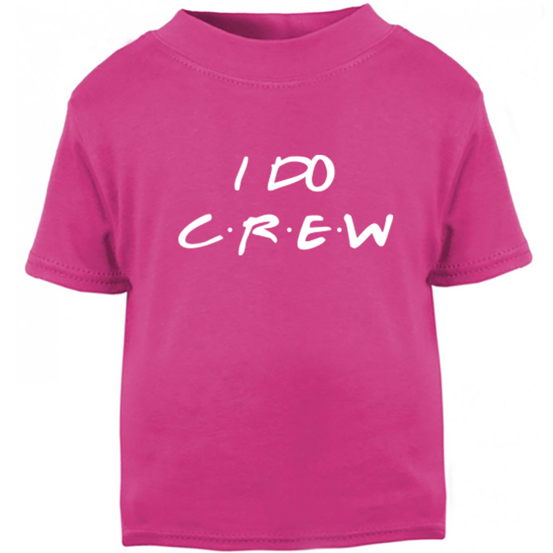I Do Crew Childrens Ages 3/4-12/14 Unisex Fit T-Shirt K2381