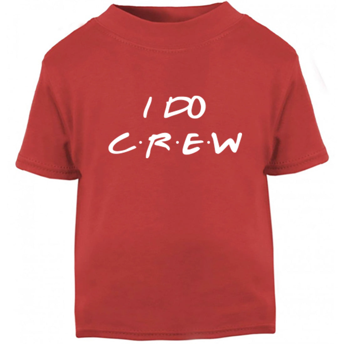 I Do Crew Childrens Ages 3/4-12/14 Unisex Fit T-Shirt K2381 - Illustrated Identity Ltd.