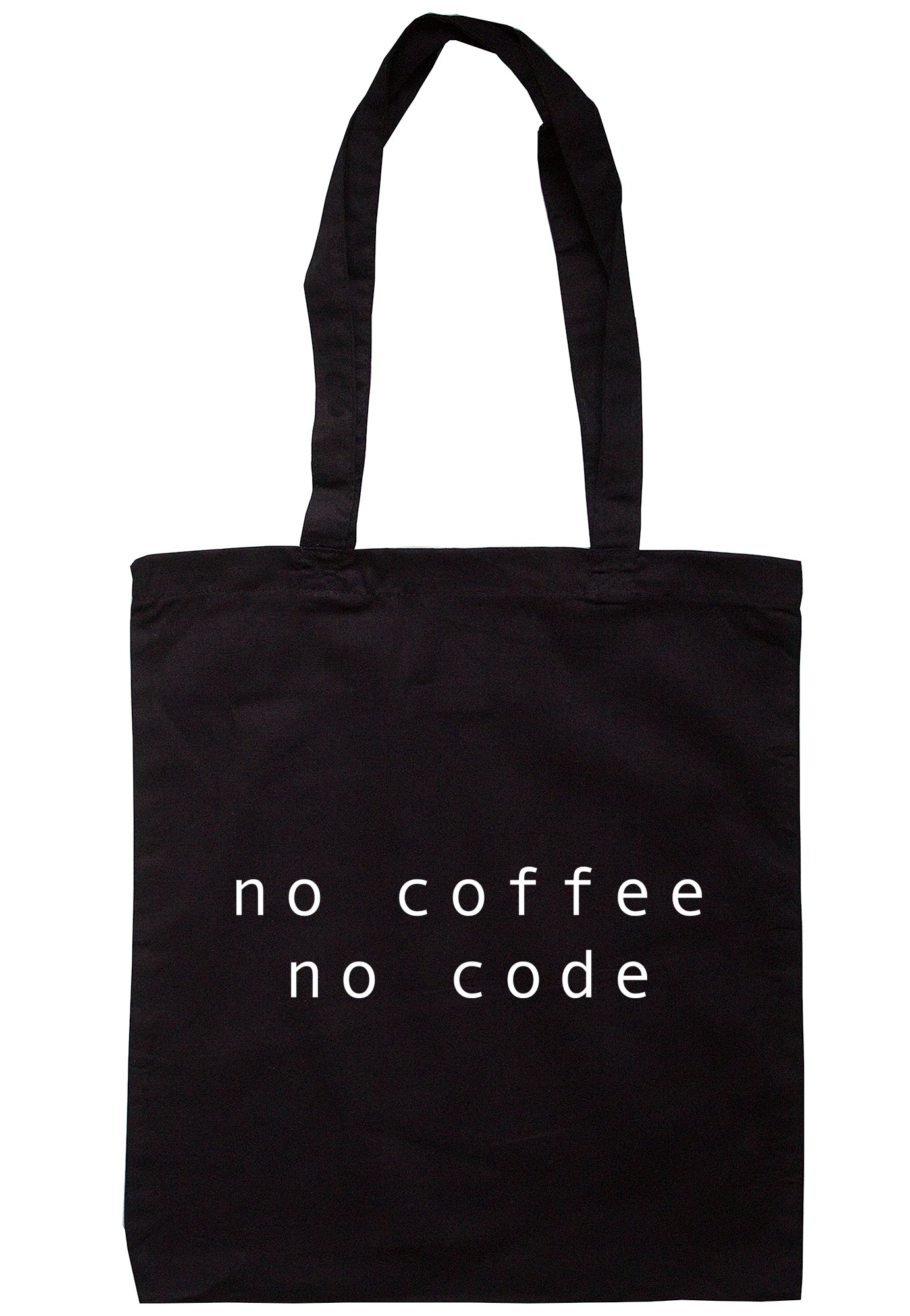 No Coffee No Code Tote Bag K2437