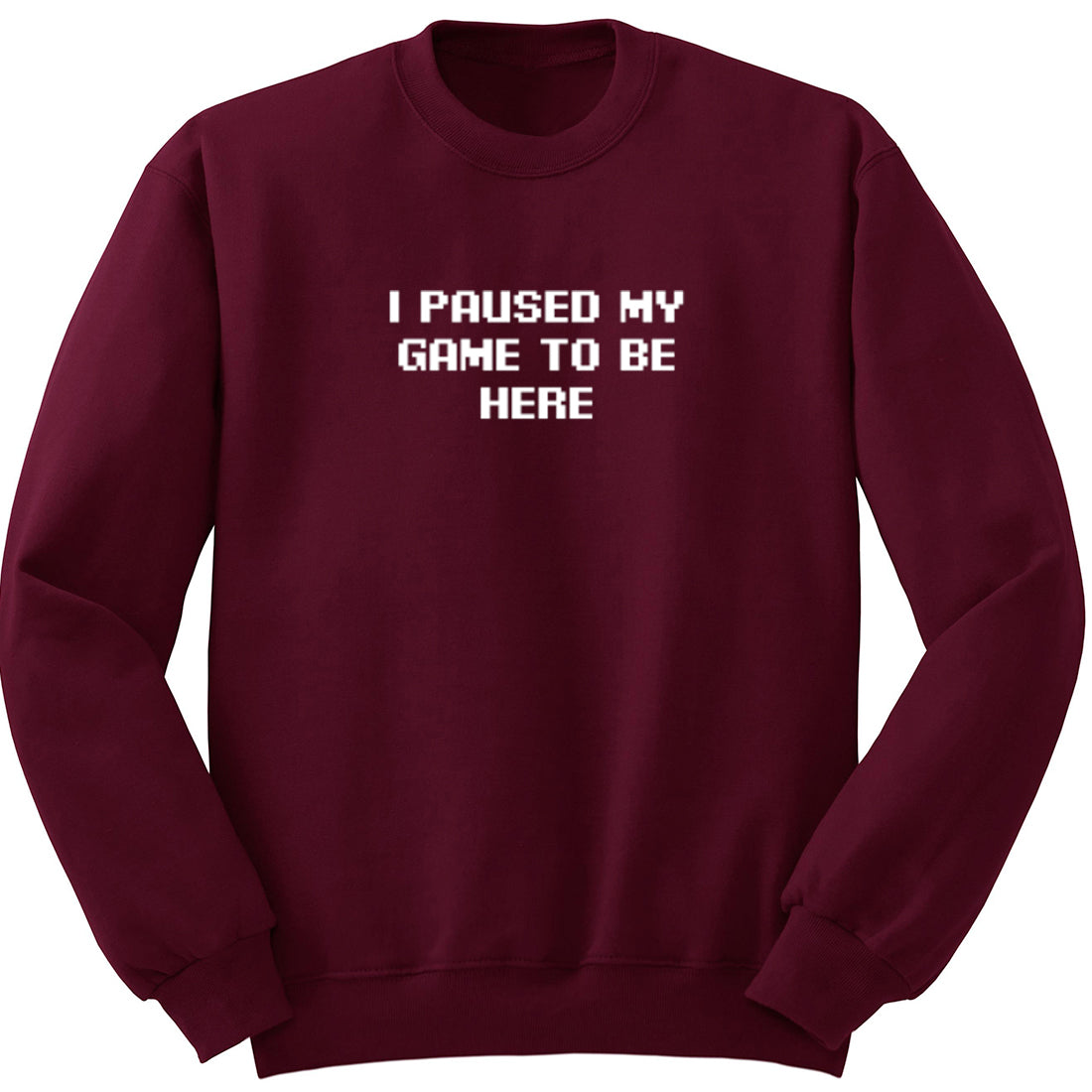 I Paused My Game To Be Here Unisex Jumper K2545