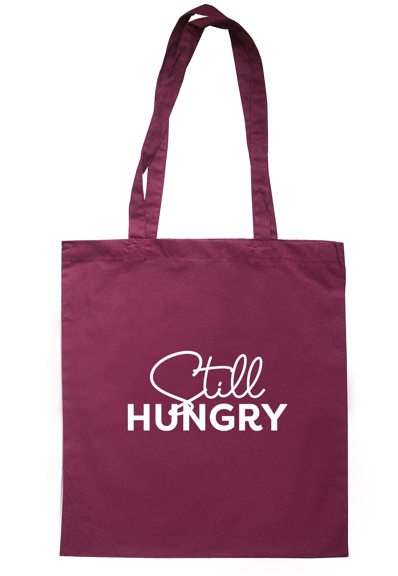 Still Hungry Tote Bag K2555 - Illustrated Identity Ltd.