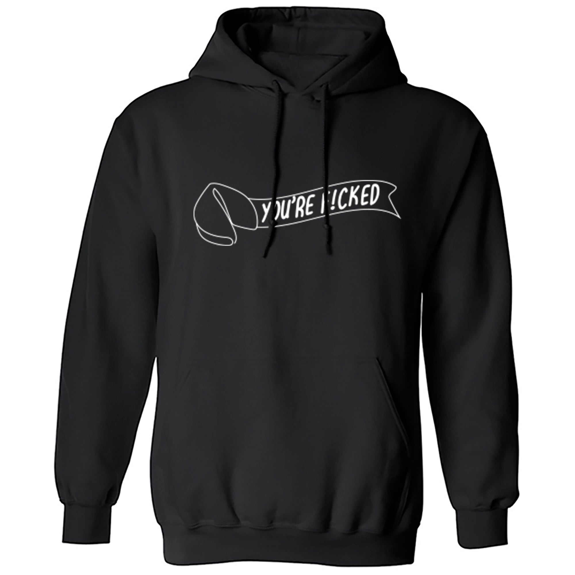 You're F!cked Unisex Hoodie S0022 - Illustrated Identity Ltd.