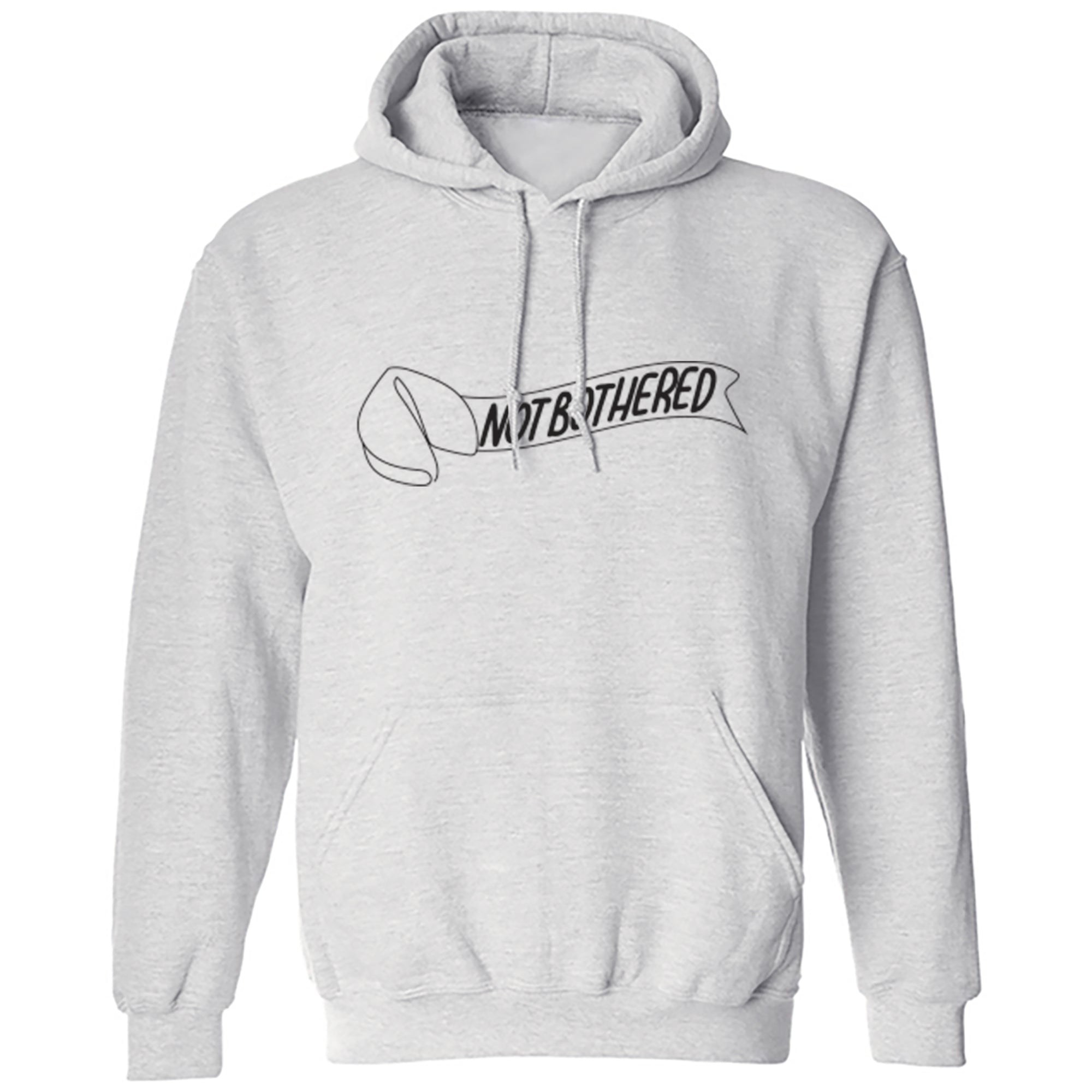 Not Bothered Unisex Hoodie S0023 - Illustrated Identity Ltd.