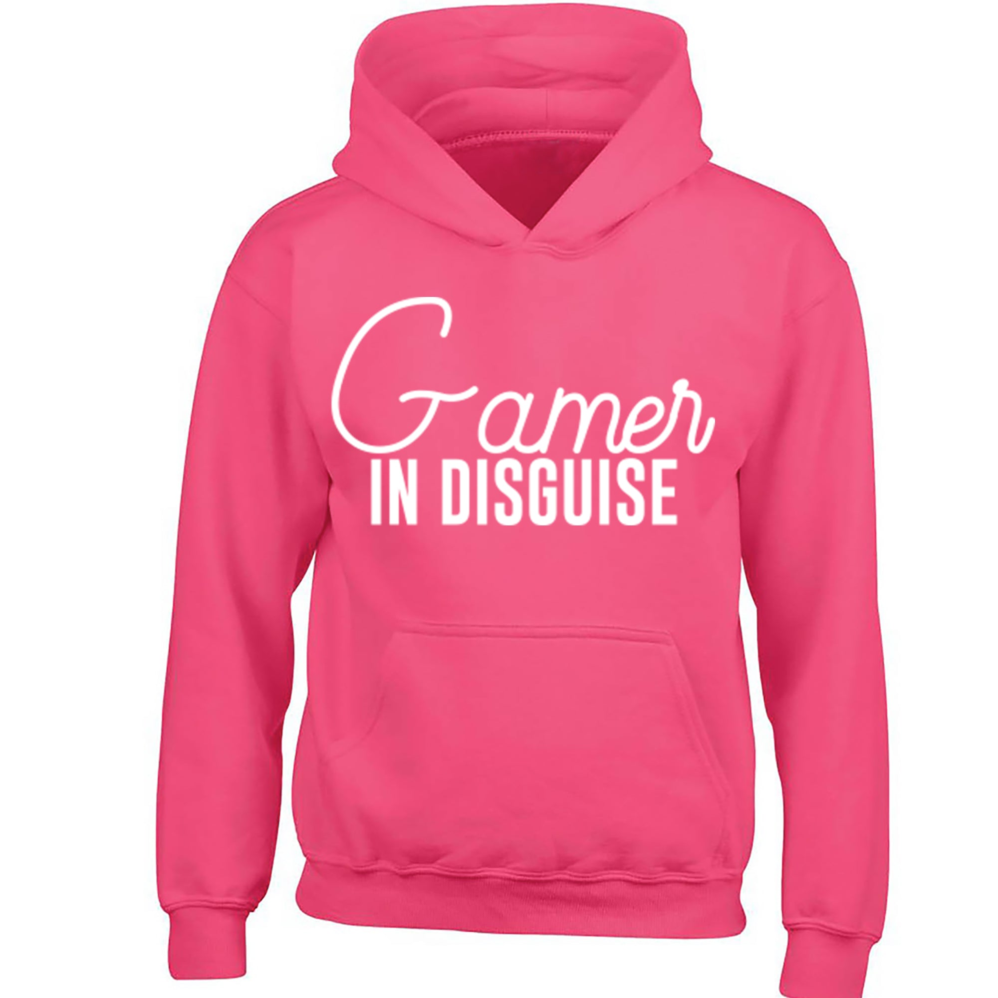Gamer In Disguise Childrens Ages 3/4-12/14 Unisex Hoodie S0048 - Illustrated Identity Ltd.