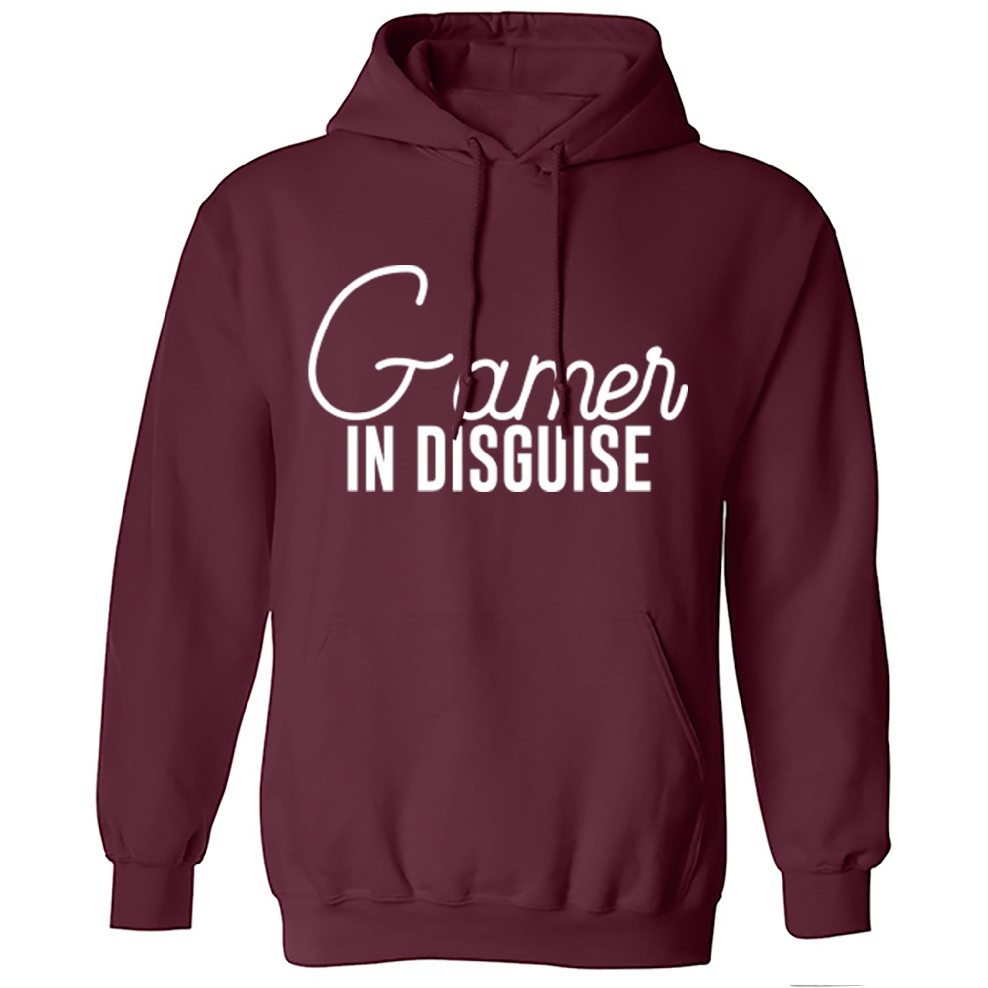 Gamer In Disguise Unisex Hoodie S0048 - Illustrated Identity Ltd.