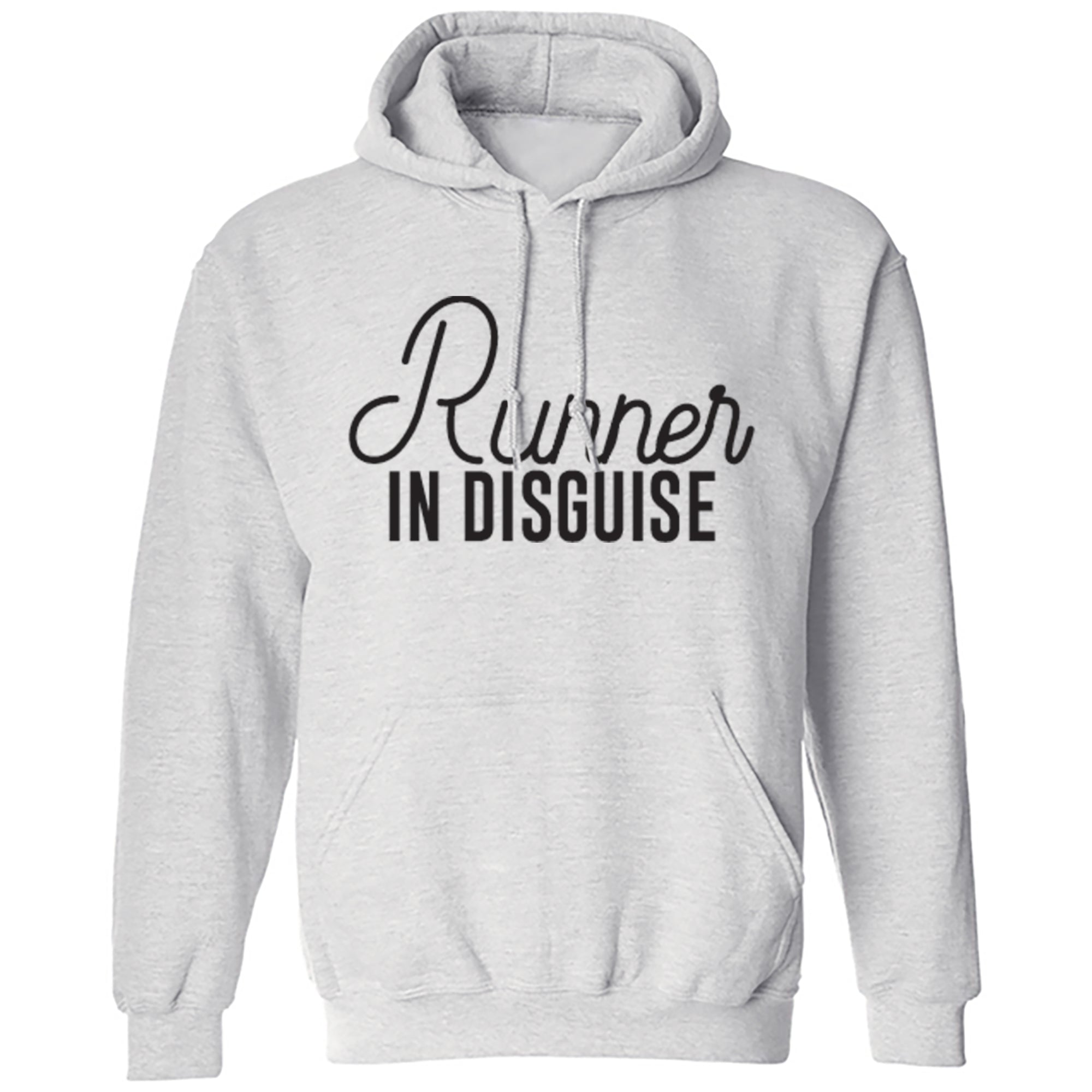 Runner In Disguise Unisex Hoodie S0049 - Illustrated Identity Ltd.