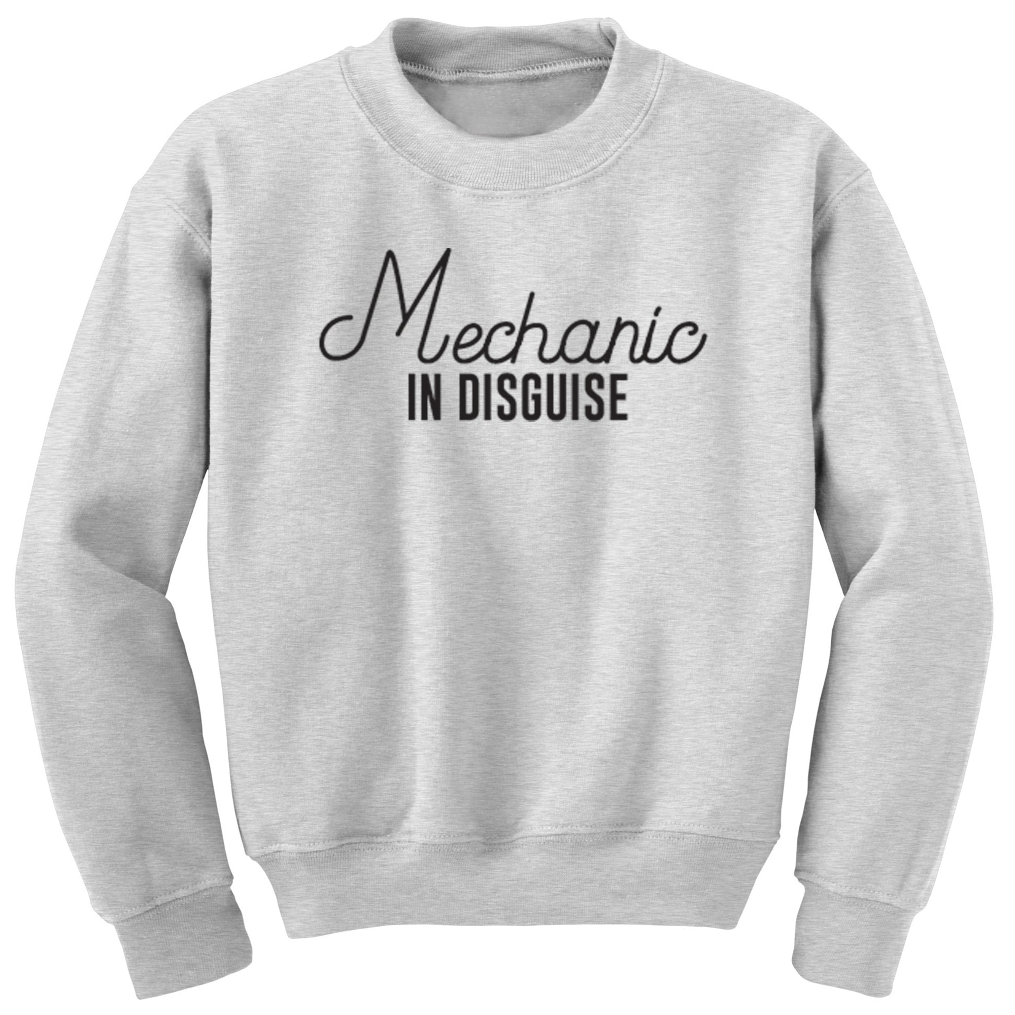 Mechanic In Disguise Unisex Jumper S0062 - Illustrated Identity Ltd.