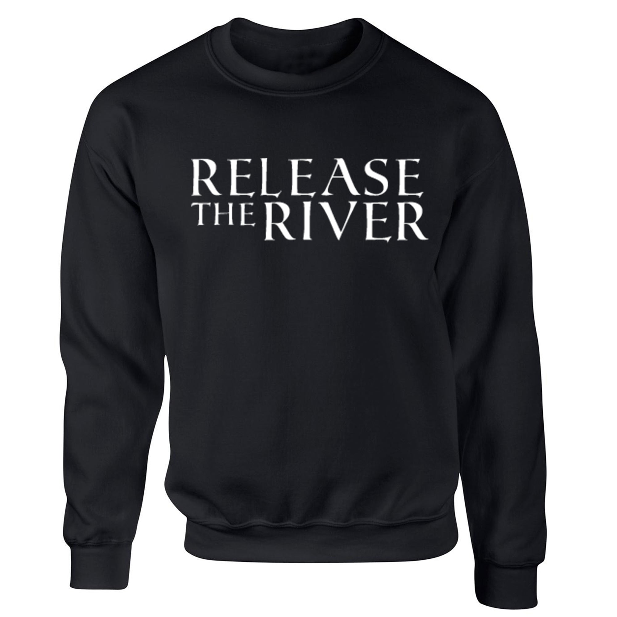 Release The River Unisex Jumper S0287 - Illustrated Identity Ltd.