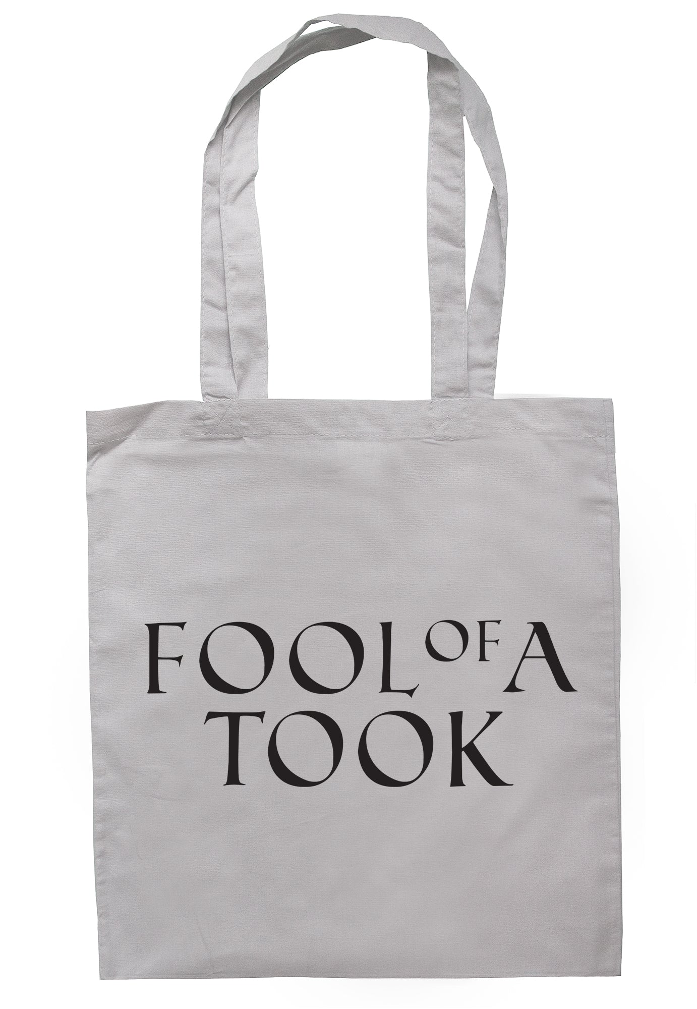 Fool Of A Took Tote Bag S0288 - Illustrated Identity Ltd.